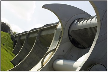 Photograph of the Falkirk Wheel